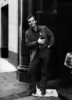 Jack Nicholson, sometime in the late '60s or early '70s judging from his hairline.