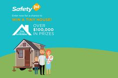 I just entered for a a chance to win a tiny house and other monthly prizes. You too can enter! #TinyHouseGiveawayEntry