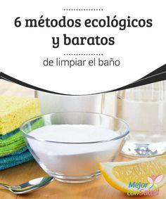 M s de 1000 im genes sobre trucos de limpieza en pinterest - Productos para limpiar el bano ...
