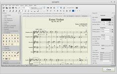 MuseScore es un editor de partituras para Windows, Linux y Mac