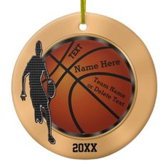 Personalized Basketball Ornaments: http://www.zazzle.com/pd/spp/pt-zazzle_ornament?dz=961a43a0-ddfc-4f8d-be81-8e41593c855a&clone=true&pending=true&style=circle&giftwrap=none&design.areas=%5Bcircle_front%2Ccircle_back%5D&CMPN=shareicon&lang=en&social=true&view=113111707846481090&rf=238147997806552929 MORE Basketball Gift Ideas: http://www.zazzle.com/littlelindapinda/gifts?cg=196808750908670951&rf=238147997806552929 Cool basketball Christmas gifts for players.