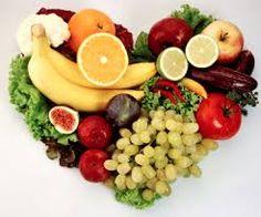 Healthy food... healthy heart. Comida sana... corazón sano