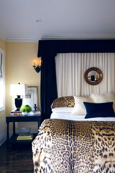 Ideas To Use Animal Prints  Bedroom