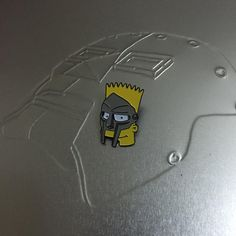 """#mfbart #bartsimpson #mfdoom pin by @joeflomontana with my mf doom #cassettetape case"""