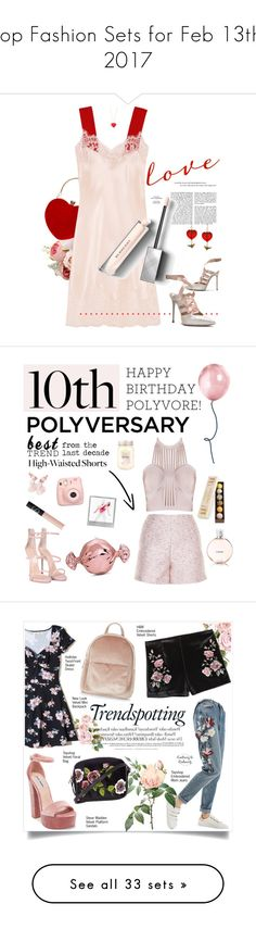 """Top Fashion Sets for Feb 13th, 2017"" by polyvore ❤ liked on Polyvore featuring beauty, Givenchy, Kate Spade, Burberry, Charming Life, glossylips, Balenciaga, Giuseppe Zanotti, Judith Leiber and Brumani"