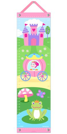 Princess Growth Chart - By Olive Kids