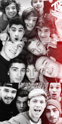 The revolution of the one direction's selfies.