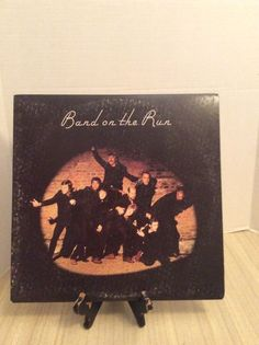 Band On The Run Paul Mccartney Album Record Lp Vinyl With Poster