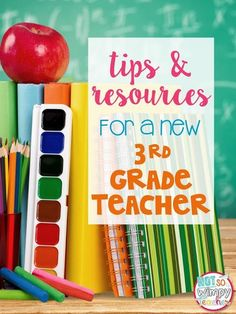 Tips and Resources for New Third Grade Teachers: Lots of ideas for new 3rd grade teachers! (Or any third grade teacher for that matter!)