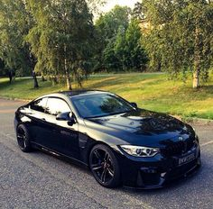 #BMW #M4 on #black