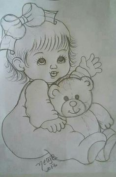 10 Easy Painting Ideas For Home Decor - Art For Beginners Easy Pencil Drawings, Girly Drawings, Princess Drawings, Art Drawings For Kids, Disney Drawings, Cartoon Drawings, Girl Drawing Sketches, Art Drawings Sketches Simple, Drawing Ideas
