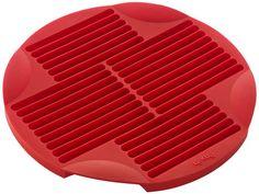 Lekue Sticks Silicone Baking Mold, Model # 0210600R01M017, Red