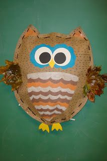 A day in the life of this art teacher: Stuffed OWLS