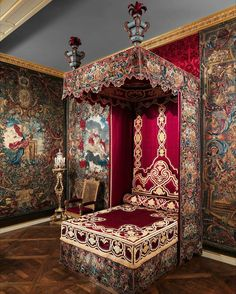 @Regrann from @metmuseum - What caught me was this idea that there was a place of imagination that you could explore. Catherine Opie (@csopie). Click on the link in our bio to hear the artist talk about the Louis XIV bedroom. Bed valances and side curtains ca. 1700. French. #TheMet #MetArtistProject #CatherineOpie #LouisXIV #Regrann http://ift.tt/1RnjH2c