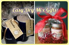 No-Cook Dry Mixes Make Easy Gifts From Your Kitchen