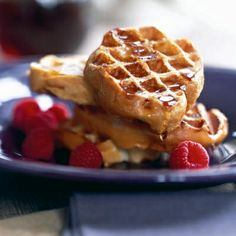 French Toast Waffles Recipe.....two of my favourite thing!.