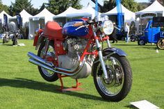 Simon Graham's 1974 MV Agusta 750S won Best in Show at the 2012 Quail Motorcycle Gathering. Photo by Richard Backus.