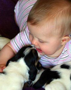 A natural born dog lover