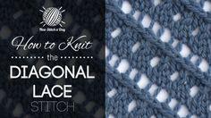 Knitting 2/52 NewStitchaDay.com