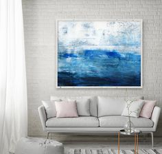 Abstract Painting Extra Large Print Giclee of Original Wall