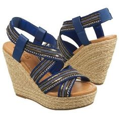 CARLOS BY CARLOS SANTANA Women's Corelle Wedge Sandal at Famous Footwear