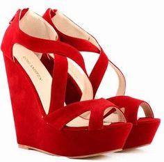 Gladiator Style Wedge Shoes