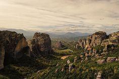 Sunlight @ Holly Rocks - Meteora Greece by Panos Lahanas on 500px