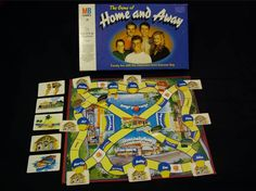 The Home and Away Board Game I remember getting this from santa at a crimbo party. I really hated it