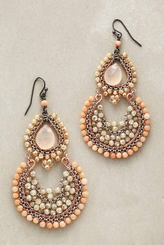 Laurina Earrings - anthropologie.com