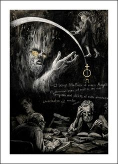 Santiago Caruso, El horror de Dunwich  http://book-graphics.blogspot.rs/2013/04/the-dunwich-horror.html