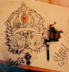 Sick tattoo design. #tattoo #tatttoos #ink