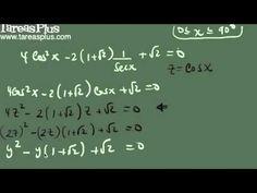 Solución de una ecuación trigonométrica ejemplo 6