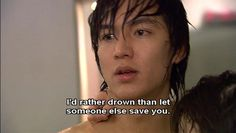 <3 ... one of the rare times where Goo Jun Pyo wasn't acting like a rich jerk.