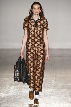 Catwalk Report: Mother of Pearl A/W 15