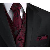 NEW Men/'s Cardi Royal Blue Paisley Tuxedo Cummerbund Bow tie Hankie TUXXMAN