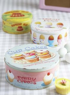 -The Yellow Buttercup-: Lovely Monday: Vintage Tins