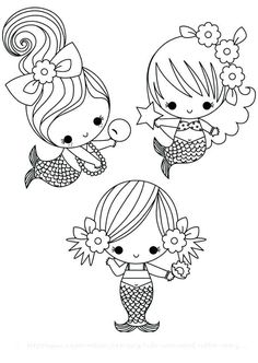 Cute Mermaid Coloring Page. Cute Mermaid Coloring Page. Cute Baby Mermaid Coloring Pages 2 by James Mermaid Coloring Pages, Coloring Pages For Girls, Cute Coloring Pages, Printable Coloring Pages, Coloring For Kids, Coloring Sheets, Free Coloring, Coloring Books, Mandala Coloring