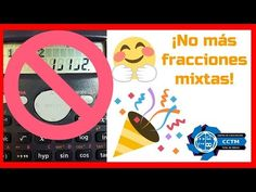 ¿Cómo hacer que la calculadora muestre fracciones normales en lugar de m...
