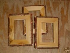 Log Picture Frames : Cedar furniture on Pinterest  Log Furniture, Log Benches and Logs