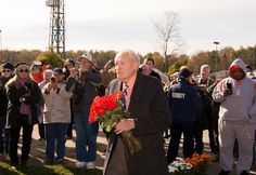 King Leatherbury pays tribute to Ben's Cat Nov. 11, 2017 at Laurel Park. Ben's Cat Laid to Rest at Laurel Park Four-time Maryland Horse of the Year died in July after his retirement from racing.
