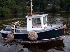 Mini Tug Boats