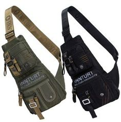 Frank Mens Shoulder Bag Sling Chest Pack Fashion Usb Charging Sport Crossbody Handbag Sports Bags Running Bags Various Styles Relojes Y Joyas
