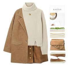 """""""TOP SET 25.12.15 //gold buttons//beige//comfy shoes//"""" by lion-smile ❤ liked on Polyvore featuring Gucci, Proenza Schouler, Jennifer Meyer Jewelry, MANGO, Cara, Chloé, Bambeco, Lauren Ralph Lauren, women's clothing and women"""