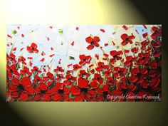 ORIGINAL Art Abstract Painting Red Poppy by ChristineKrainock, $315.00  https://www.etsy.com/listing/190895355/original-art-abstract-painting-red-poppy?ref=sr_gallery_41&ga_search_query=poppy&ga_ship_to=US&ga_search_type=all&ga_view_type=gallery