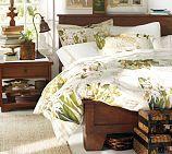 Sumatra II Bed, Full, Mahogany stain