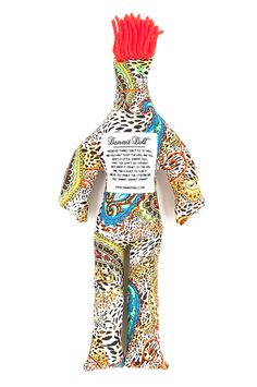 Bienvenue Jungle Dammit Doll. Dammit Dolls brings a smile when you haven't had fun in a while!