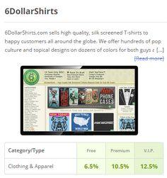 6 dollar shirts coupon code, get up to 12.5% Cashback as a Dubli V.I.P. customer - 10.5% (Premium member) -    6.5% (Free member). Cashback for anything you buy thru Dubli shopping malls.  #6dollarshirts #6 #dollar #shirts #six #dollar #shirts