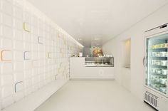 Andy Martin Architets disegna la gelateria Olivogelo a Londra