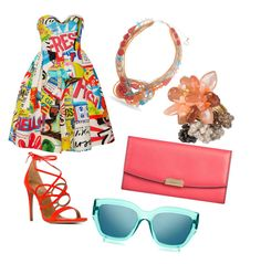Designer Clothes, Shoes & Bags for Women Le Specs, Aquazzura, Moschino, Polyvore Fashion, Burberry, Shoe Bag, Clothing, Stuff To Buy, Shopping