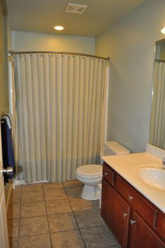 Our Guest Bathroom, Paint Color Sherwin Williams Contented